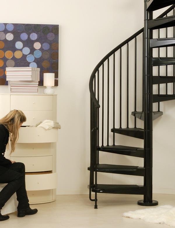 Indoor Spiral Stairway Civik Spiral Staircase Modular Stairs