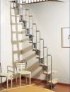 karina Loft Staircase - Grey
