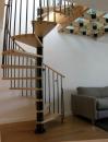 Phoenix Interior Spiral Staircase - Black