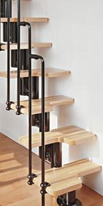 Attractive Stairkit Types We Carry. Loft Stairs · Spiral Staircases ...